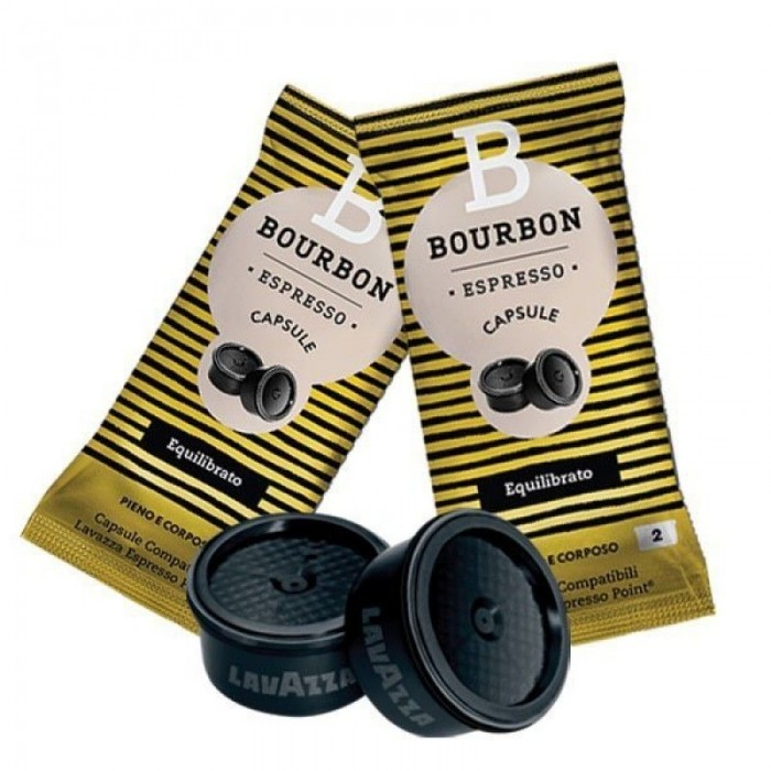 100 Lavazza Bourbon Equilibrato Espresso Point