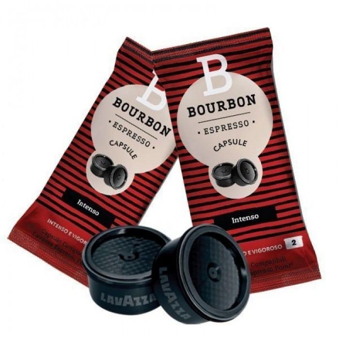 100 Lavazza Bourbon Intensiv Espresso Punkt