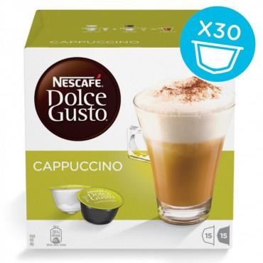 30 capsule Cappuccino Dolce Gusto