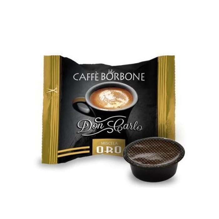 100  Borbone Don Carlo Tostatura Oro compatibile A modo Mio