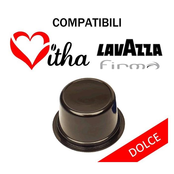100 Capsule Gusto Dolce Compatibili Lavazza Firma Vitha Group  Gran Caffe Garibaldi