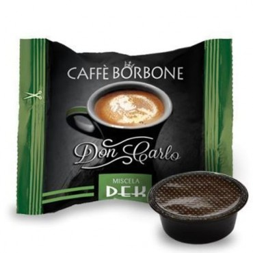 50 Borbone Don Carlo Decaffeinato compatibile A modo Mio