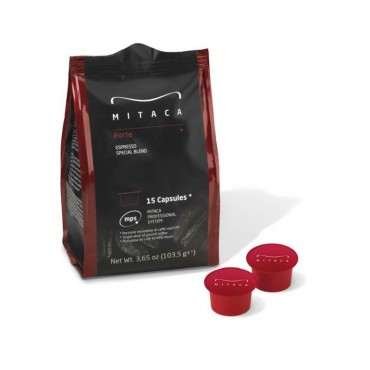 90 capsule Caffe Forte Mitaca MPS Illy & Mitaca MPS