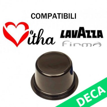 50 Kapseln Entkoffeinierte kompatible Lavazza Signature Vitha Group Sistema Lavazza Firma Vitha Group