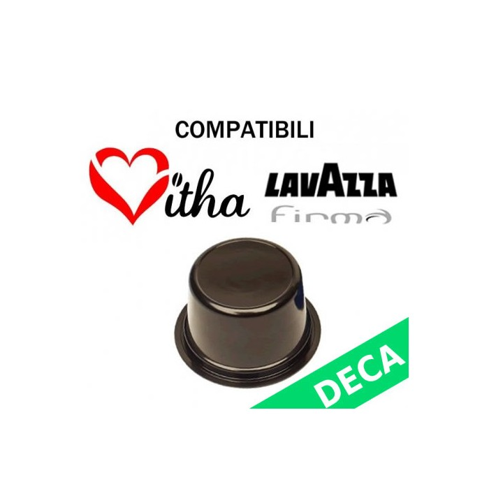 50 Capsules Decaffeinated Compatible Lavazza Signature Vitha Group Sistema Lavazza Firma Vitha Group