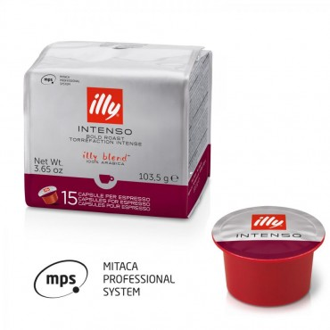 90 Capsule Caffe Illy Mitaca MPS Intenso tostatura scura