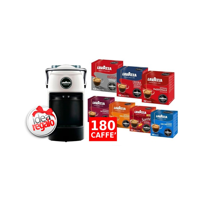 Macchina Lavazza A amodo Mio Jolie + 180 Caffè
