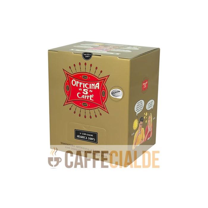 150 Cialda 44mm ARABICA 100% Officina 5 Caffe