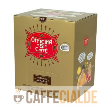 150 Cialde ESE 44mm AROMA BAR Officina 5 Caffe