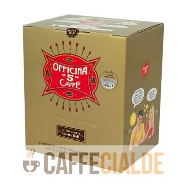 100 AROMA BAR Officina 5 Caffe A MODO MIO