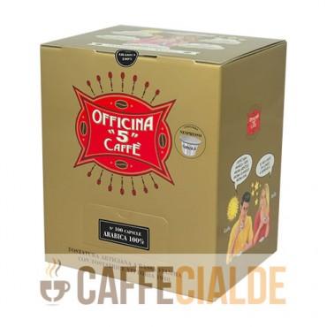100 ARABICA 100% Officina 5 Caffe Nespresso