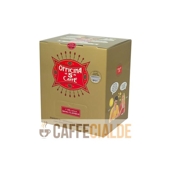 100 AROMA CLASSICO Officina 5 Caffe A modo Mio