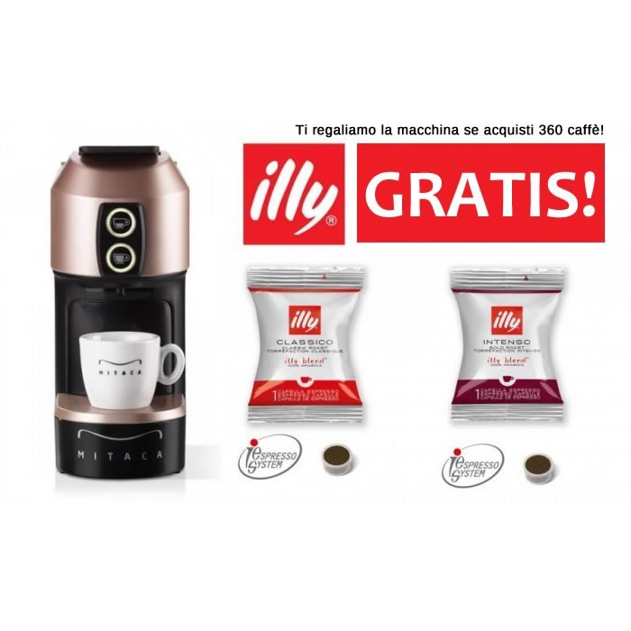 KOSTENLOSE ILLY I1 IES-Maschine mit 400 ILLY IES-Kaffees Sistema IES