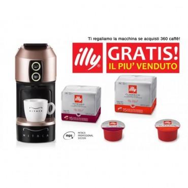 Mitaca Illy M1 MPS Gratis con 360 Caffè