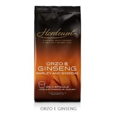 25 capsule Ginseng Hordeum per  Mitaca ILLY MPS